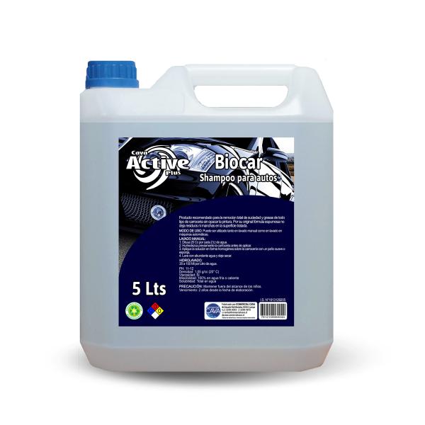 Biocar – Shampoo para autos-min