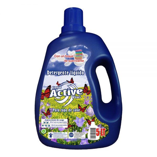 Detergente Active 5Lt Botella