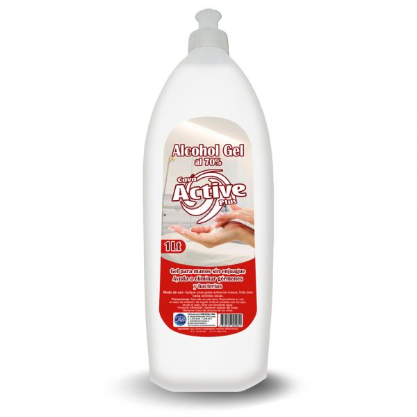 Alcohol Gel Active 1Lt