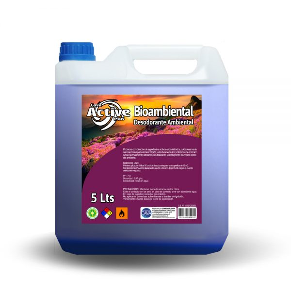 Bioambiental 5Lt Fresh Blue