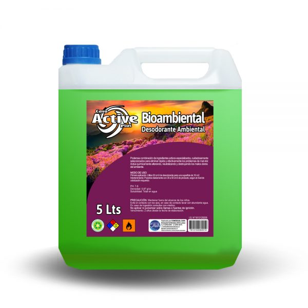 Bioambiental 5Lt Manzana